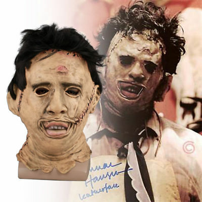 Cosplay Chainsaw Massacre Creepy Latex Mask Halloween Masquerade Costume Props