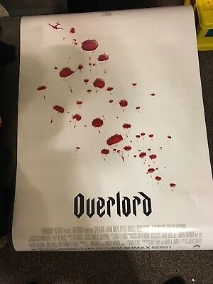 Overlord Original Double Sided 27x40 Poster Ships Asap With Tracking Free Ship