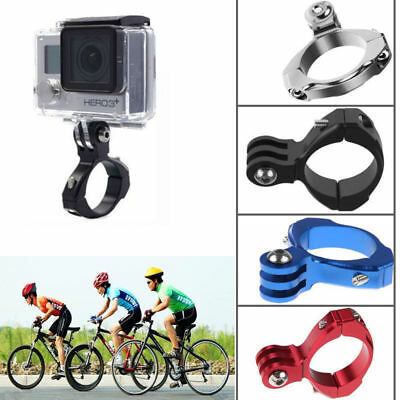 Bike Cycle Aluminum Handlebar Bar Clamp Mount for Gopro Hero 1/2/3/3+ Camera
