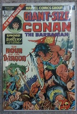 GIANT-SIZE CONAN THE BARBARIAN #1 (1974) Gil Kane Barry Smith art solid copy