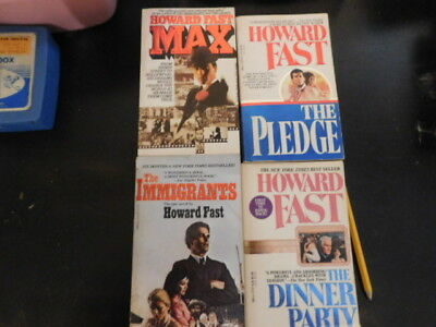 Howard Fast Paperback books Lots