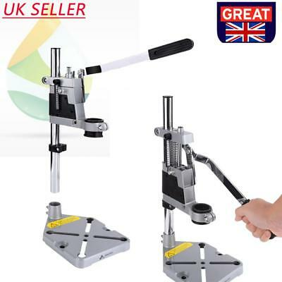 Hand Drill Press Bench Stand Repair Tool Workbench Pillar Clamp Drilling Collet