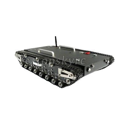 30Kg Load WT-500S Smart RC Tracked Tank RC Robot Car Chassis Shock-absorbing ##