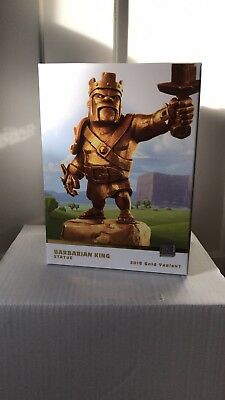 Gold Barbarian King Statue Clash of Clans