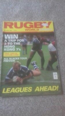 Rugby World & Post Magazine October 1989