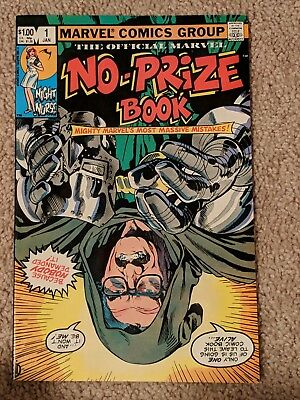 Marvel Comics No Prize Book 1982 No.1
