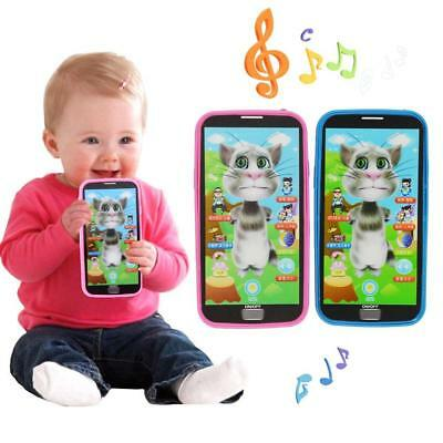 Kids Simulator Music Phone Touch Screen Kid Educational Learning Toy Child Gift