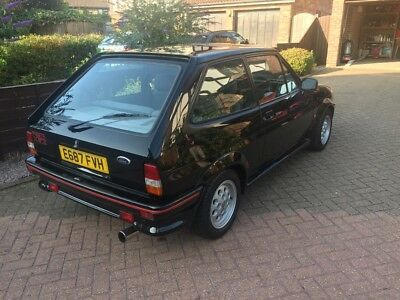 Ford Fiesta XR2 43,000 Miles and Only 3 Former Keepers