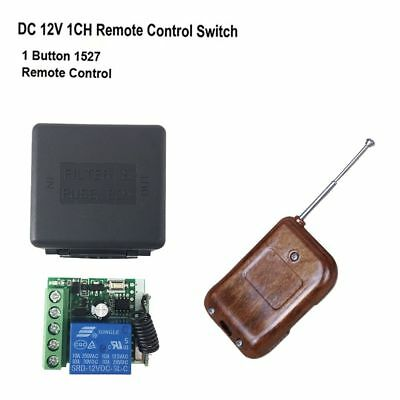 DC 12V 10A 433Mhz Controller Transmitter Remote Control Switch Receiver