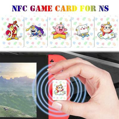 5 PCS/ Full Set  NFC CARD TAG Video Game Card For NS Switch