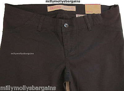 New Womens Grey Skinny Maternity NEXT Trousers Size 22 20 Regular 16 12 Short