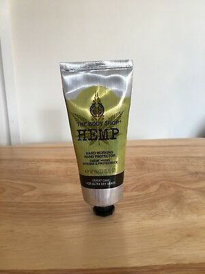 The Body Shop Hemp Hand Protector Cream - perfect for dry hands