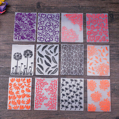 A072 BE62 Card Mould Embossing Folders Stencils Template Scrapbooking Papercraft