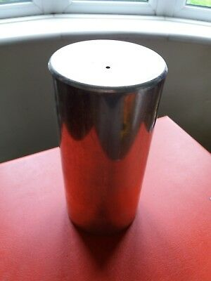 Cylindrical candle making mold 16cm high by 8cm diameter
