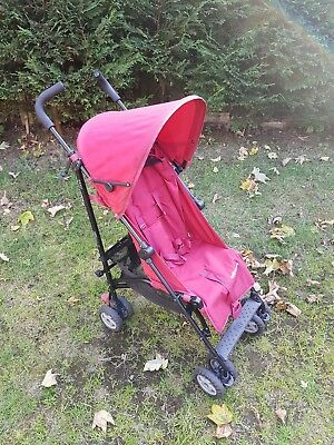 Mothercare Nanu Red Stroller Pushchair