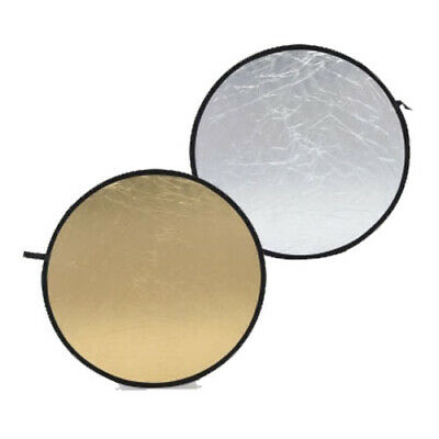 Weifeng Round Light Reflector for Studio Photo 80cm - Silver / Gold (RE2005)
