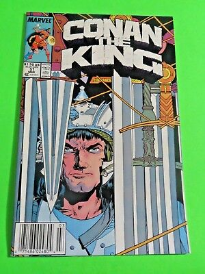 Conan The King #51 Marvel Comics Copper Age (1989) C2447
