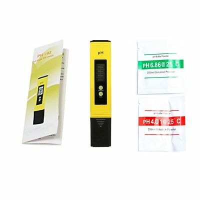 Digital LCD PH Meter Pen of Tester Accuracy 0.1 Aquarium Pool Water Wine Urine