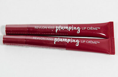 2 Revlon Kiss Plumping Lip Creme #535 SPICED BERRY
