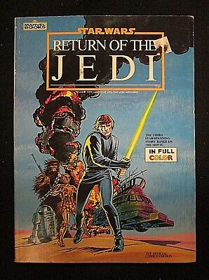 Marvel Books Star Wars Return Of The Jedi The Official Comics Version full color