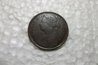 Great Britain 1860 farthing VF condition