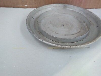 Large Vintage Milk Churn LidIt has had a small hole in the centre see photo