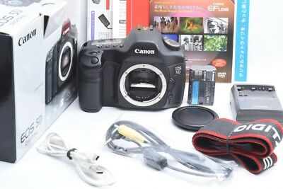 CANON EOS 5D 12.8MP DSLR Camera body Excellent From JAPAN #1371