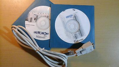 Automation Direct Koyo CLICK PLC Programming Cable With Manuals and Software