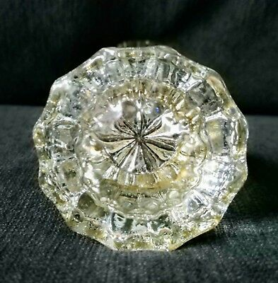 Vintage Antique Glass Door Knobs
