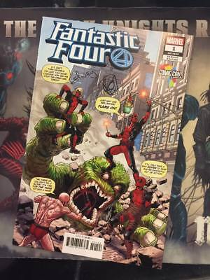 Fantastic Four #1 Comic Con Africa Variant Signed And Sketched By Will Sliney