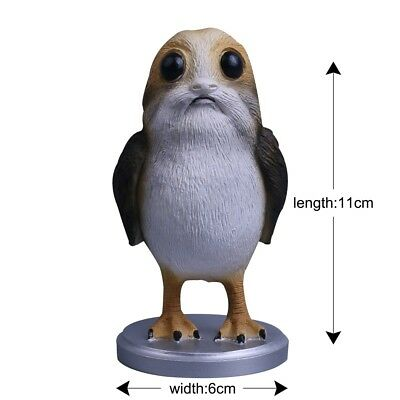 Star Wars The Last Jedi Porg Action Figure Cosplay Porg Toy Christmas Gift Resin