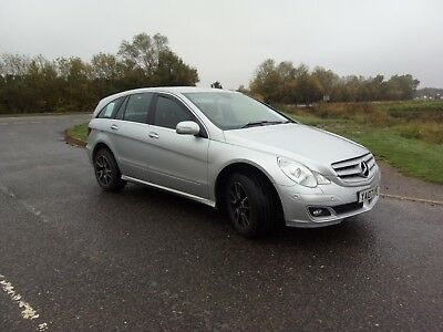 2007 (07) MERCEDES R320 CDI SE 4MATIC AUTOMATIC 4x4 3.0 V6 DIESEL SILVER R-CLASS