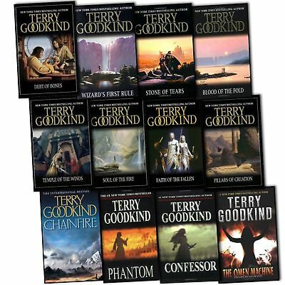 Terry Goodkind - Complete Collections (20 Books Fantasy Collection Set)