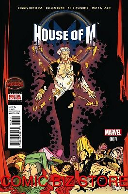 House Of M #4 (2015) 1St Printing Bagged & Boarded Marvel Secret Wars Tie-In