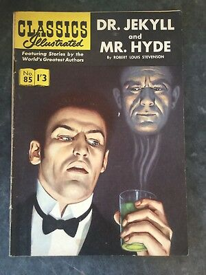 CLASSICS ILLUSTRATED - DR.JEKYLL AND MR.HYDE  Vintage Comic