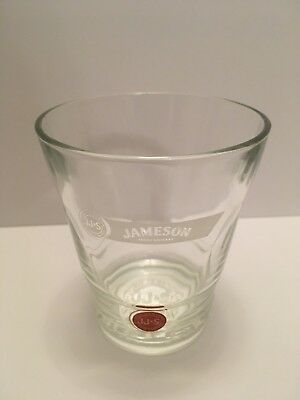 JAMESON IRISH WHISKEY Red Label Whiskey Glass. JJ&S Limited Edition glass