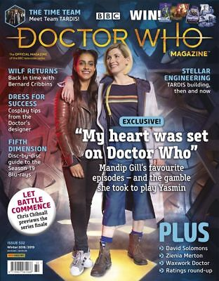 Doctor Who Magazine Winter 2018/2019 (Issue 532) New...fast Post