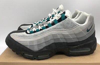 Nike Air Max 95 Freshwater Cool Grey Black Mens Size 10 Rare 609048-135