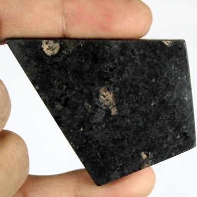 132ct Natural Premium Crystal Power Nuummite Rough Slice From Greenland HJ7