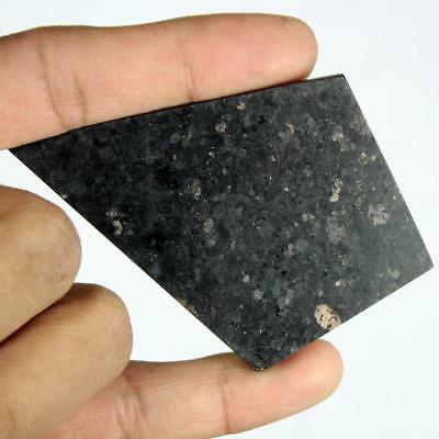 210ct Natural Premium Crystal Power Nuummite Rough Slice From Greenland HJ2