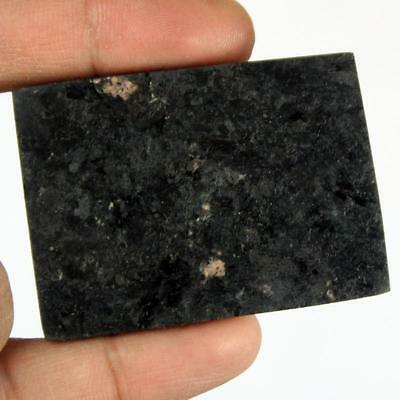 165ct Natural Premium Crystal Power Nuummite Rough Slice From Greenland HJ22