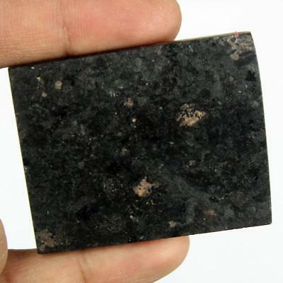 172ct Natural Premium Crystal Power Nuummite Rough Slice From Greenland HJ25