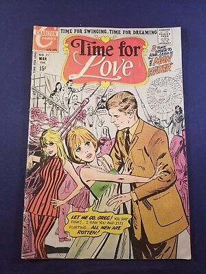 Time For Love #21 1971 Vg+ 15 Cent Charlton Romance Taking Offers Prices To Sell