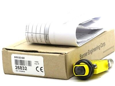 New Banner Engineering Sm312Cvqd Mini Beam Sensor