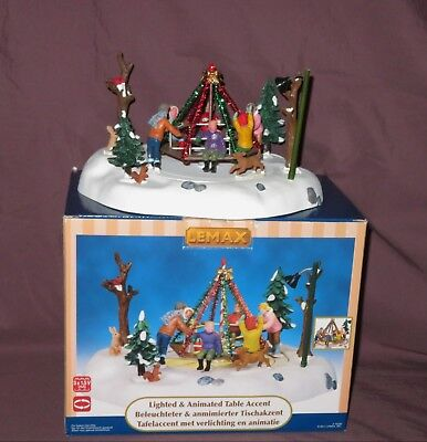 Lemax Holiday Merry-Go-Round/Winterkarusell OVP