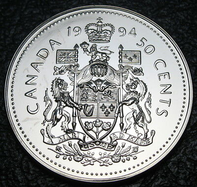 RCM - 1994 - 50-cents - Coat of Arms - Specimen - Uncirculated
