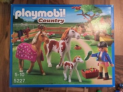"PLAYMOBIL Country 5227 ""Pferdekoppel"" in Originalverpackung OVP"