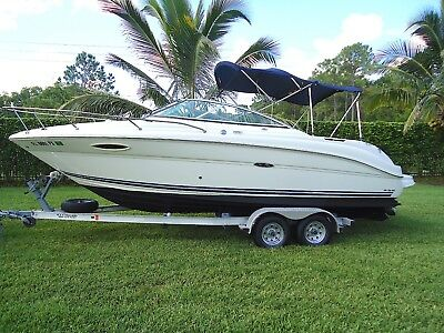 2007 Sea Ray 225 Weekender Mercruiser V8 5.0L MPI Great Condition