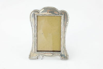 Antique 1910 Hallmarked Chester Solid Silver Photograph Frame (265g)