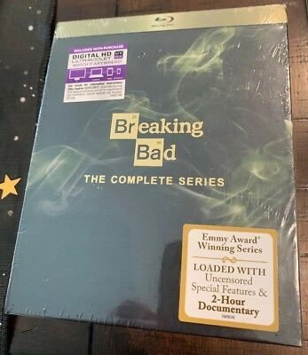 Breaking Bad: The Complete Series Blu- ray Brand New Factory Sealed Meth!